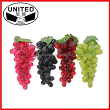 Artificial Grapes Bunches Plastic Fake Fruit Food Home decor Decoration