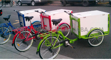 ice cream bike / box tricycle bike/family cargo tricycle UB9005B