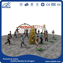 LLDPE and steel tube Material and Outdoor Playground Type Outdoor gym playground