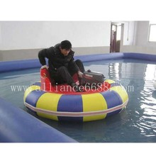china-water trampoline 7m-best quality electric bumper boat