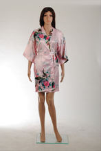 Pollution free and energy saving terry cotton and pattern cotton bathrobe