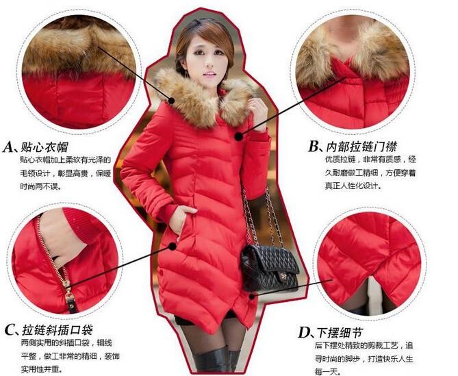 Женские пуховики, Куртки JJ  33923