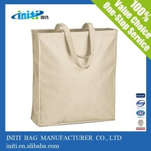 China custom quality recyclable wholesale canvas school bag