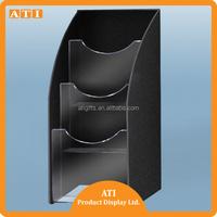 Clear Acrylic Brochure Holders/ Single brochure holder/ leaflet holder
