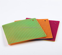 2015 new product heat resistant silicon baking mat better than woven plastic mat ,silicone pet mat/food heating pad