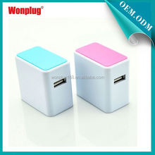 2014 New Arrival New Brand Wonplug Brand 1 Year Guarantee mini usb charger car