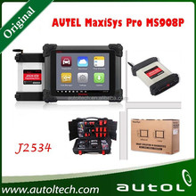 2015 New Arrived Autel Maxisys Pro MS908P Support for BM-W for AU-DI More Than 40 US Asian and European Vehicle Autel MS908 Pro