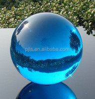 60mm acid blue crystal ball, glass crystal sphere