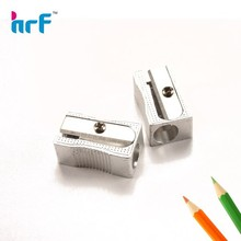 Cute Single Hole Aluminum Pencil Sharpener For School And Office