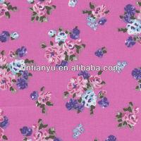 Tianyu t/c twill custom printed fabric manufacturer