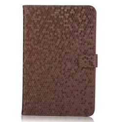 2015 New Diamond skin leather flip case for Apple Ipad mini 4 wallet case cover
