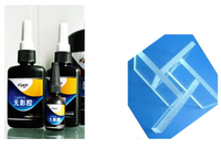 for glass/metal/ acrylic adhesive UV curing glue