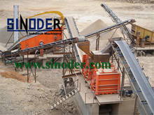 Provide stone crushing line machinery applied in mining material breaking factory- Sinoder Brand