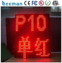 outdoor led display signs for car top sign led module dispaly smd p10