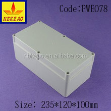 IP66 protection level abs material waterproof enclosure