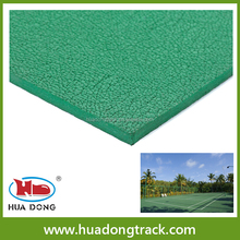 high elastic outdoor sport synthetic basketball court rubber floor