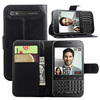 Wallet Leather Case Cover For BlackBerry Q20