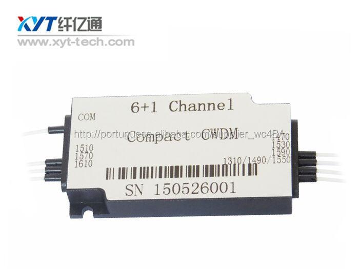 1 * 6 1550nm cwdm <span class=keywords><strong>óptico</strong></span> compacto com conector LC
