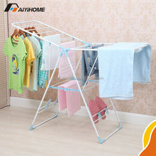 Chinese Laundry Rack, Mordern Metal Collapsible Clothing Display Racks, Retail Clothing Rack With Shoe Rack