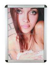 A1 A2 A3 A4 round mitred corner picture frame with clip stytle