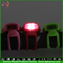 led bike light mode flash constant light 2led and 3 Flash modes with CE & ROSH certificate