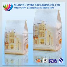 100g 120g 150g custom printed kraft paper hot chicken bags