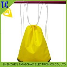 Cycling drawstring bag/light up backpack/Nylon sport bag