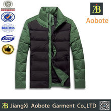 2015 New Style Breathable Outdoor Short Man Down Wear