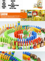 200pcs Forest Wholesale Eco Dominoes Blocks Kids Large Block Toys