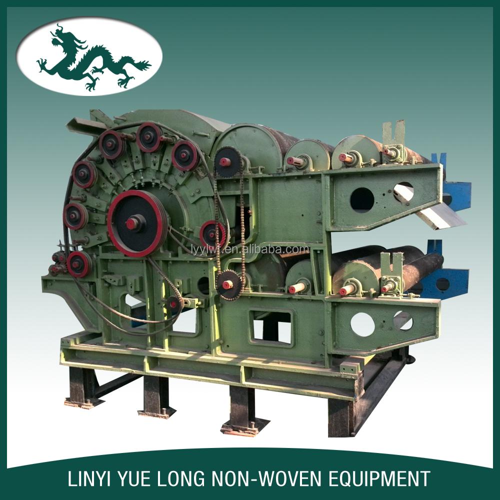 cotton and machine