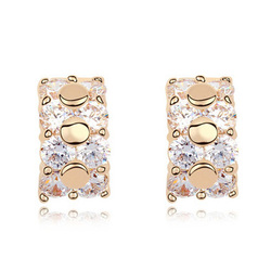 2016 Cheap Women Accessories China Latest Design of Ring Type Earrings