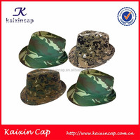 OEM Camouflage Fedora Hat/Cap Cool Bucket Hat