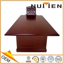 hot sale best price MDF conference table Dark Cherry Traditional Veneer Conference Tables