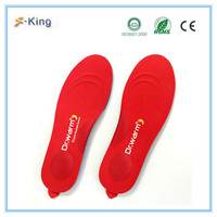 Dr.warm hot selling safety electric heated shoe insoles,remoted control heated insole,shoe inserts