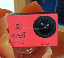 2015 New Hot WiFi Action 1080P Full HD Helmet DV Camcorder 30M Waterproof Diving sj7000 action camera