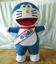custom made promotion activity costume doraemon costume