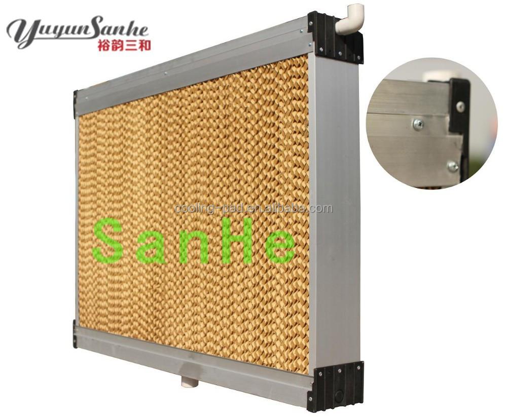 Evaporative Cooling Pads : Sanhe poultry farm cooling system evaporative pad