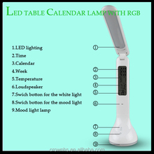 High quality Rechargeable Batteries 360 degree rotary golf led table lamp