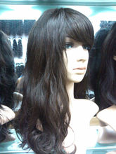 Fashion hair style wholesale brazilian vrigin 100% human hair wig