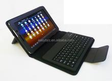 For iPad 2 Keyboard wireless bluetooth case, Folding Bluetooth Keyboard for Apple iPad 2/3,black color