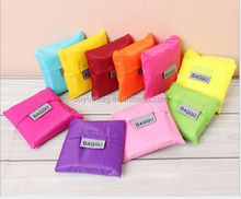 Creative folding bags shopping bags small side bags can be printed LOGO