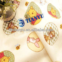 Inherently soft and warm flannel children's sleepwear fabric