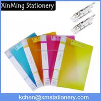 a4 clear plastic sliding bar file folder a4 size file folder plastic folder binder spine bar