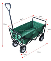 portable folding shopping trolley bags with wheels