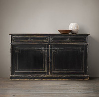antique reproduction a/reclaimed wood sideboard