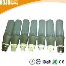 China factory 7W 9W 12W G24 G23 E27 B22 SMD2835 led energy saving bulb