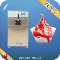 BXR-1128 2015 Hot Sale ice cream maker yogurt ice cream machine with Capacity of freezing cylinder is 1.9L*2.