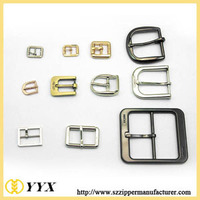 Cheap new belt custom metal buckles for bags metal coat belt accessories