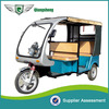 Factory Supply Stable Performance electric tricycle for passenger Elegant Six Seated Electric tricycle for passenger