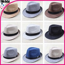 Men and women with sun hat Cloth art Adult jazz cap hat